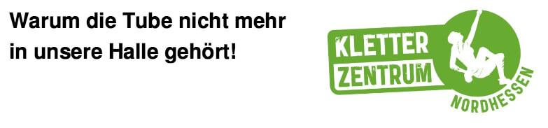 Kletterhalle Kassel Tube Verbot